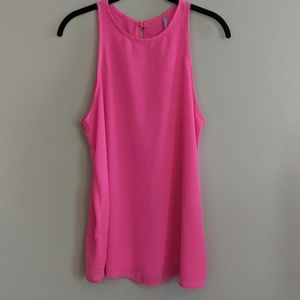 Lulu's Sleeveless Shirt Pink